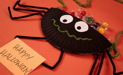 Manualidades para ni os halloween for Decoracion halloween manualidades