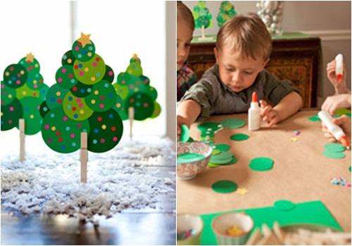 Manualidades para ni os - Postales de navidad faciles para ninos ...