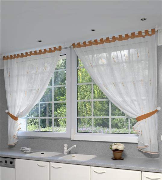 Modelos de cortina de cocina for Modelos de cortinas de cocina