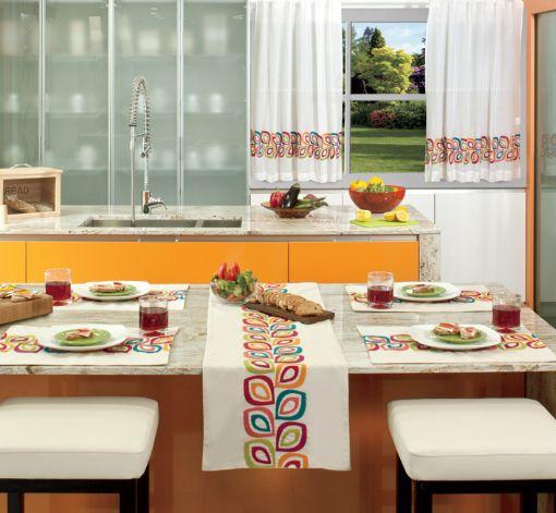 Modelos de cortina para cocinar for Tipos de cortinas para cocina