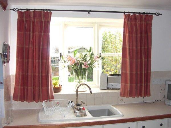 Modelos de cortinas para la cocina for Modelos de cortinas de cocina