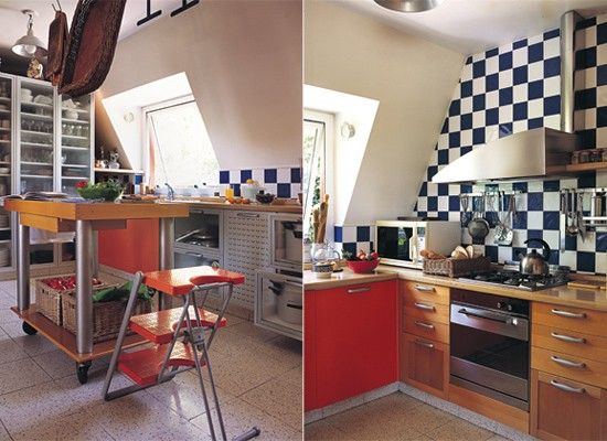 Modelos de mesones de cocina