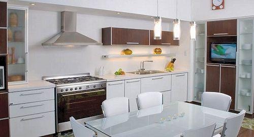 Modelos de muebles de cocina en melamina for Modelos de muebles de cocina modernos