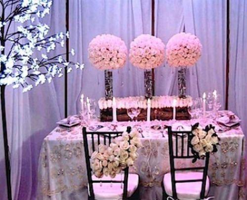 centros de mesa para boda 2012