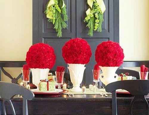 Centros de mesa para boda de flores naturales