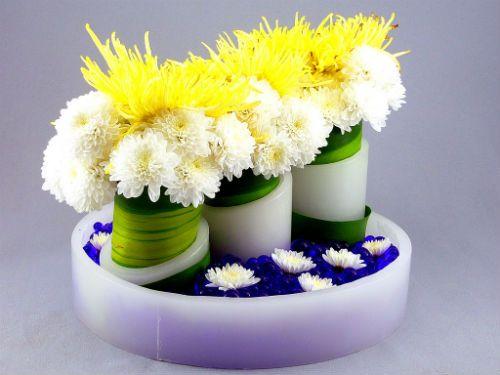 Centros de mesa para boda econ micos - Centros de mesa para bodas economicos ...