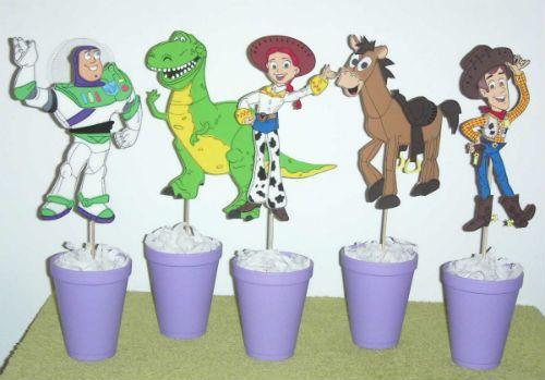 Centros de mesa toy story 3