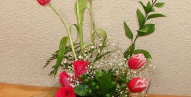 Centros de mesa tulipanes