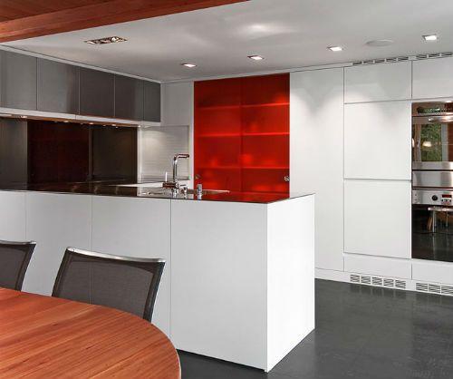 Cocinas blancas de dise o moderno - Cocinas diseno moderno ...