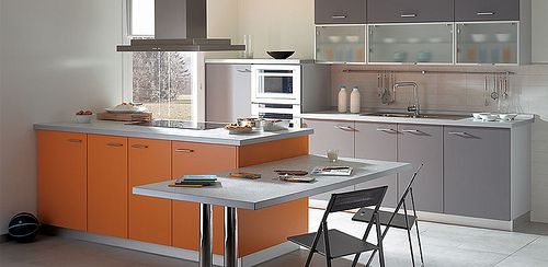 Cocinas integrales en espacios peque os for Cocinas integrales modernas para espacios pequenos