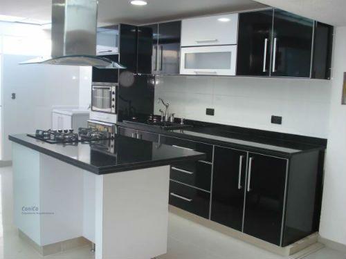 Cocinas integrales modernas en aluminio for Modelos cocinas integrales modernas