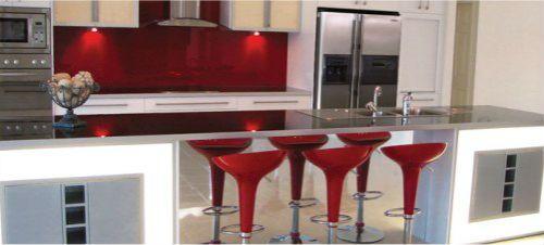 Cocinas integrales color rojas imagui - Cocinas de color rojo ...