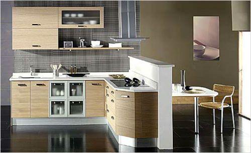cocinas modernas para apartamentos