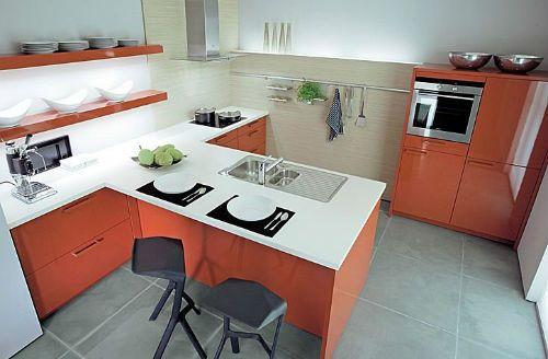 Cocinas modernas y funcionales for Cocinas pequenas modernas y funcionales