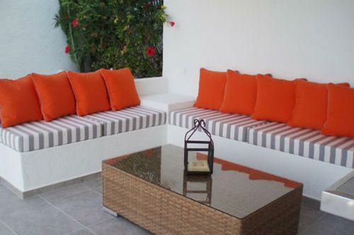 Cojines para terraza for Muebles para terraza economicos