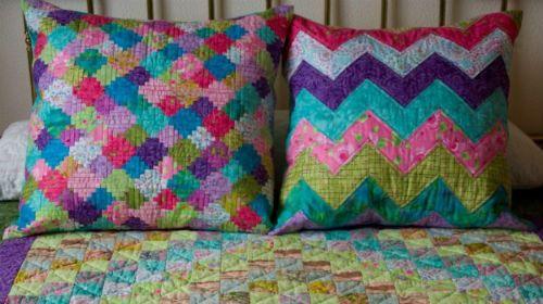 Los cojines en tela - Patrones colcha patchwork ...