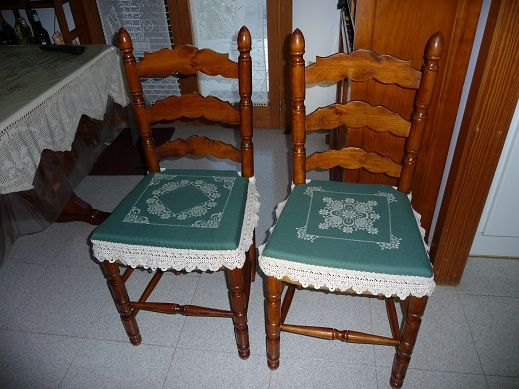 Decoracion mueble sofa cojines sillas cocina - Cojines redondos para sillas ...