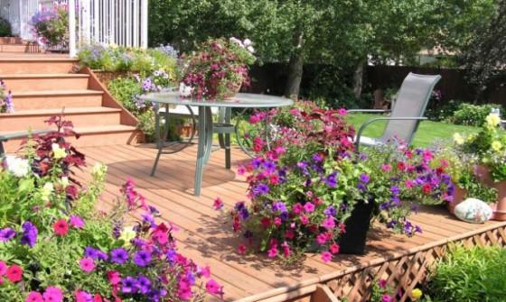 Como decorar el jardín