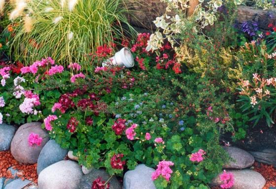 como decorar jardines pequeos