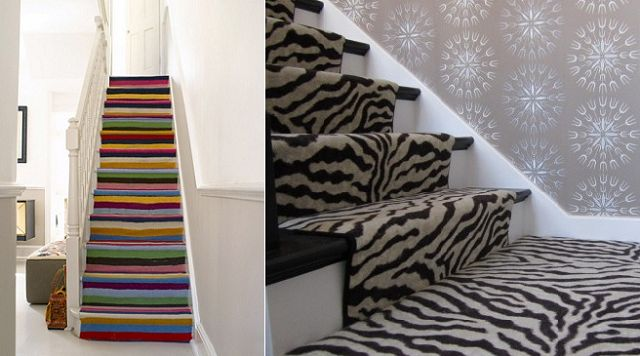 Como decorar una escalera interior - Como decorar una escalera ...