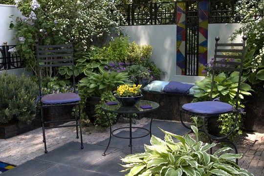 Como decorar una terraza con plantas - Como cubrir una terraza ...