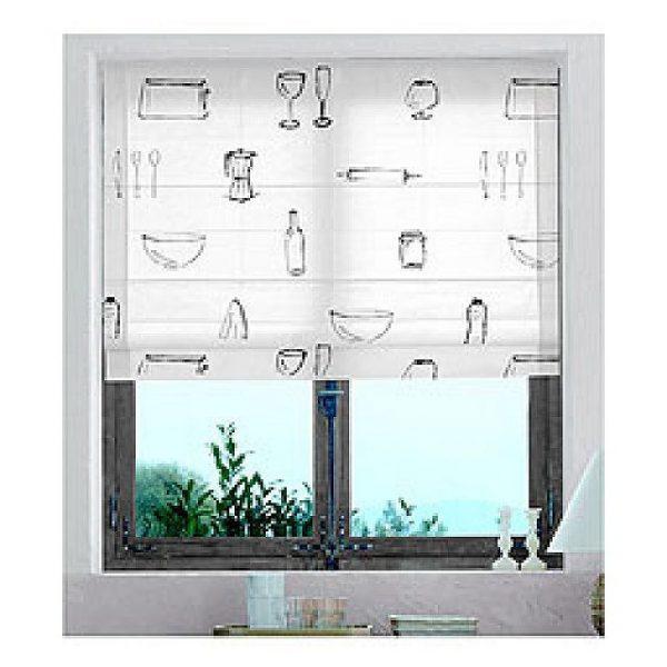 Cortinas cocinas modernas for Modelos de cortinas de cocina