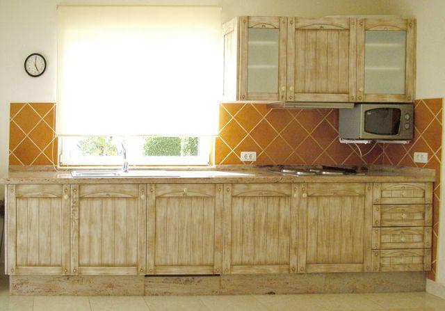 Cortinas para cocinas rusticas for Cortinas para muebles de cocina
