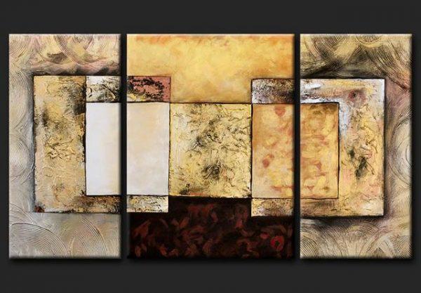 Cuadros abstractos modernos texturados - Manualidades cuadros modernos ...