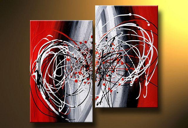 Cuadros dipticos modernos - Como hacer pintura ...
