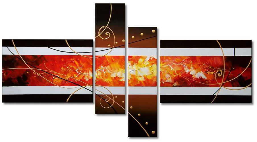 Cuadros modernos abstractos tr pticos d pticos - Cuadros decorativos para cocina abstractos modernos ...