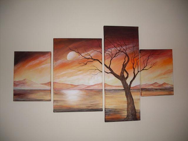 Top cuadros modernos para comedor wallpapers - Cuadros salon comedor ...