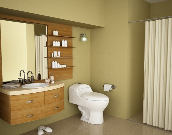 Diseño de baños en espacios pequeños