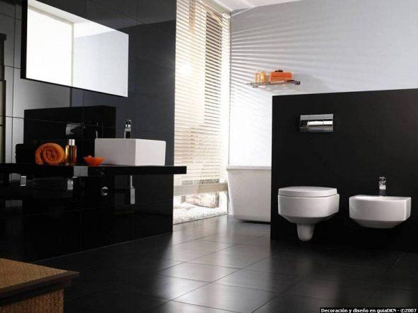 Diseño de baños interiores