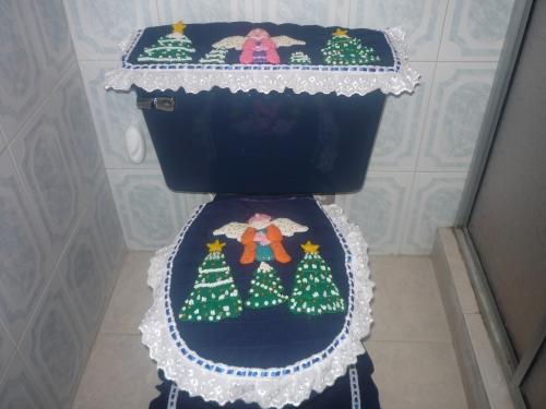 Baños Decorados Navidenos:Barrales para cortinas de baño