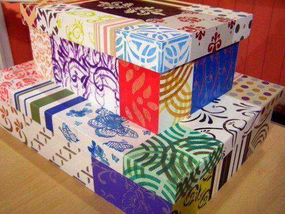 Ideas para decorar cajas - Ideas decoracion navidad manualidades ...
