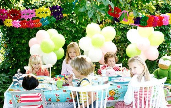 Ideas para decorar con globos fiestas infantiles