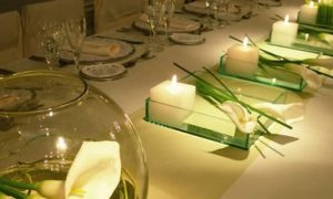 Ideas para decorar con velas