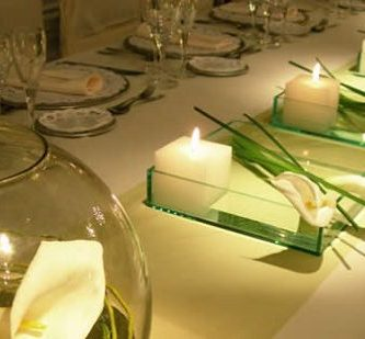 Ideas para decorar con velas