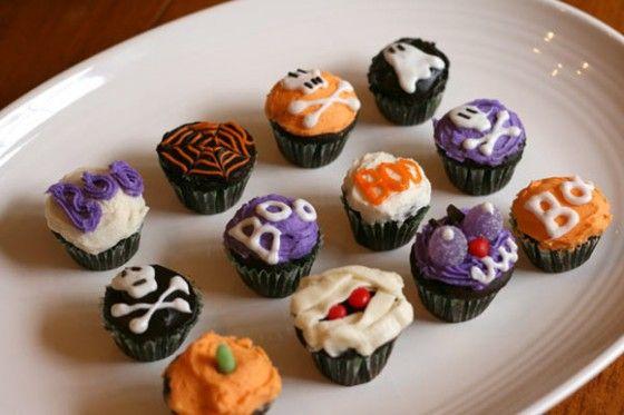 Ideas para decorar cupcakes