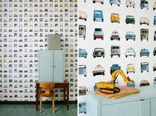 Ideas para decorar habitaciones infantiles - Habitacion bebe papel pintado ...