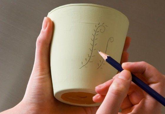 Ideas para decorar macetas