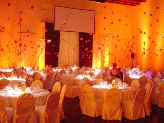 Ideas para decorar salones de bodas