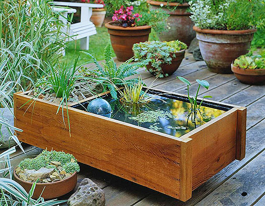 Ideas para decorar un jardin pequeño