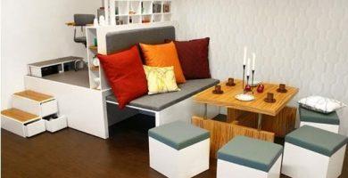 Ideas para decorar una sala pequeña
