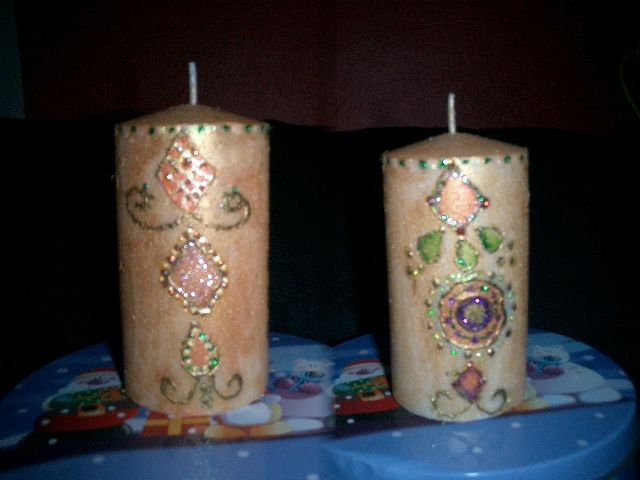 Ideas para decorar velas - Decorar con velas ...