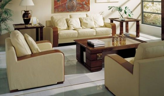 Modelo de muebles de sala