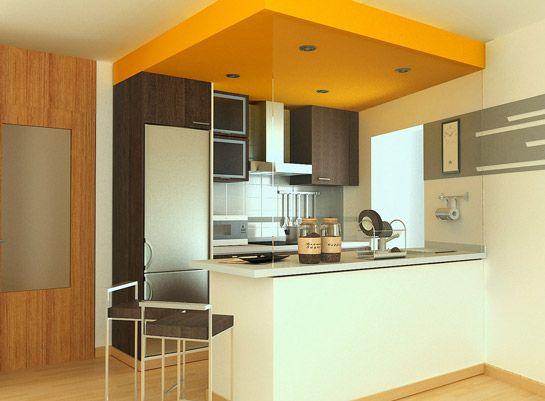 Modelos de barras de cocina for Altura barra cocina