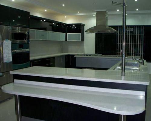 Modelos de cocina empotradas for Modelos de cocinas en l