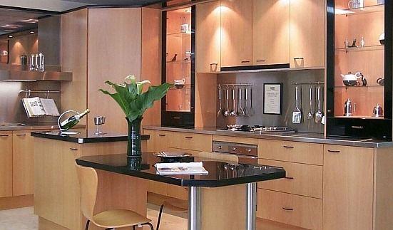 Modelos de cocina en melamina for Modelos de muebles de cocina