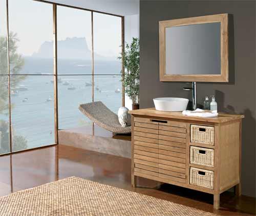 Muebles de ba o r sticos baratos - Muebles baratos de bano ...